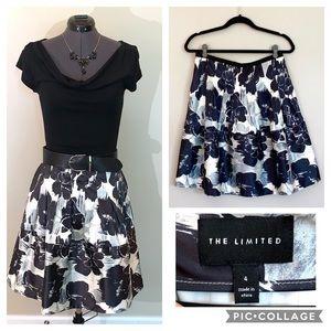 Limited full midi floral skirt